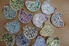 slepičkové talířky