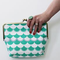 Date Night Clutch from Sew Caroline + Gleeful Fabric Giveaway