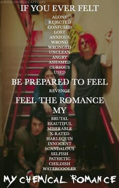 My Chemical Romance ❤️