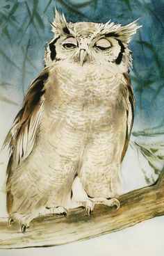 owl by Ralph Thompson