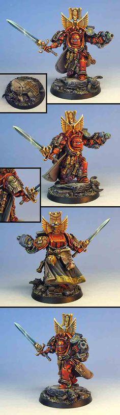 Heavy duty Marneus Calgar conversion