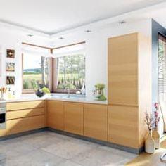 Modern kitchen by pracownia projektowa archipelag modern Minimal Home, Kitchen Styling, Planer, Minimalism, House Plans, House Design, Interior Design, Storage, Furniture