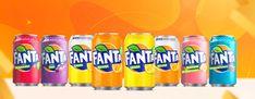Variedades y sabores de la bebida | Fanta Coca Cola, Fanta Can, Carbonated Drinks, Ants, Beverages, Canning, Fruit, Stuff Stuff, Raspberry
