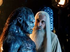 Do you know how the orcs first came to be? They were elves once; taken by the dark powers, tortured, and mutilated.
