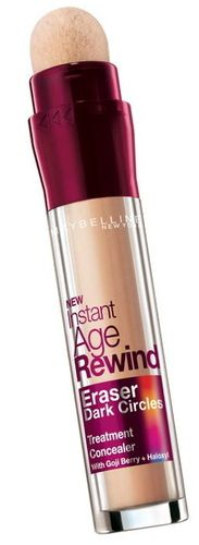 Maybelline Instant Age Rewind Dark Circle Eraser Concealer $12.29 - from Well.ca - for under eye circles, puffiness and shadows. sounds good, want to try. cheap/frugal, drugstore option. lj
