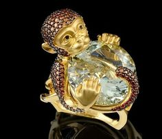 "Monkey ""Master Exclusive"" Izhevsk Jewelry House, Russia"