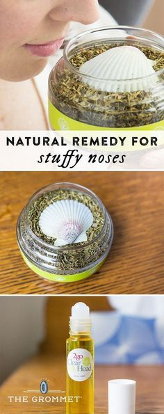 Clear My Head is a natural remedy for stuffy noses. It can relieve sinus pressure and even headaches—breathe from the jar of seven herbs and essential oils, or mix into hot water for a steam treatment. Avoid the side effects and lingering odors of menthol rubs with this aromatherapy alternative.