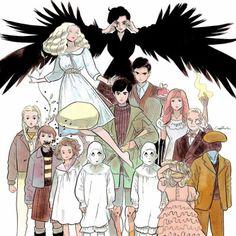 Little Thunder - Miss Peregrine's Home for Peculiar Children Film Tim Burton, Tim Burton Art, Fanart, Miss Peregrine's Peculiar Children, Peregrine's Home For Peculiars, Miss Peregrines Home For Peculiar, Johny Depp, Bon Film, Cosplay Anime