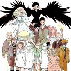 Miss Peregrines Home For Peculiar Children movie art.