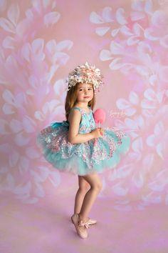 AB-VS-026 Pastel Ballerina Photography Backdrop