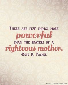 Righteous mothers