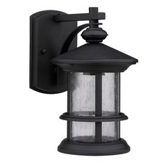 Transitional Black One-Light Weatherproof Outdoor Wall Fixture - Overstock™ Shopping - Big Discounts on Wall Lighting