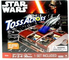 Star Wars Toss Across  Set New in box Ages  5+ Cardinal 2015 New  | eBay