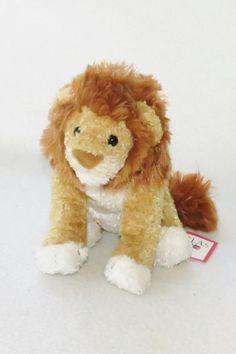 "NWT 8"" Brown Douglas Cuddle Barnes & Noble King Lion Doll Plush Stuffed Toy #Douglas"