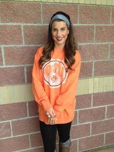 OSU double design comfort colors sweatshirt