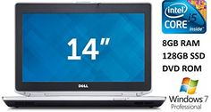Introducing Dell Latitude E6430 14inch Business Laptop Intel Core i5 Processor 8GB DDR3 RAM 128GB SSD DVD Windows 7 Pro Gray Certified Refurbished. It is a great product and follow us for more updates!