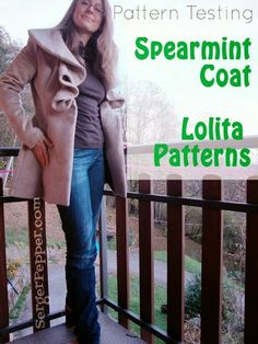 How to fit 2 mistakes in a Coat : Serger Pepper