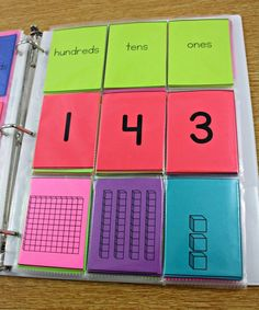The Rise and Shine Binder - Tunstall's Teaching Tidbits, place value, first grade place value, second grade place value, kindergarten place value, morning work binder