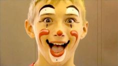 Clown Faces | Clown Face Paint Video Tutorial By Jinny (In Under 2 Minutes!)—Face ...