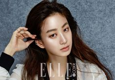 Jung Ryeo Won showed the elegance of simplicity on Elle [More Image] >> http://kpopselfie.blogspot.com/2015/10/jung-ryeo-won-showed-elegance-of.html