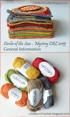 crochet mandala circles of the sun