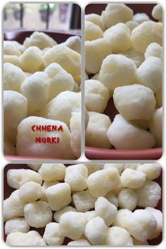 Chhena murki, or chenna murki, is a sweet made from an Indian version of cottage cheese (paneer), milk and sugar in many states such as Odisha.