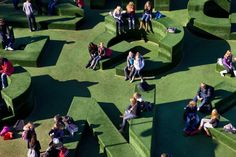 Typographic Play Sculpture, Vollaerswzart, Oldenzaal Netherlands, 2009 | Playscapes
