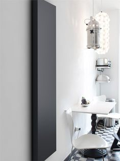 Panel steel Decorative radiator LIGHT by SCIROCCO H | #Design Marco Fumagalli #white #lantern