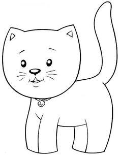 Art'sanália: Riscos para pintar gatinhos!