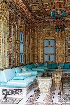 Moroccan Art, Moroccan Interiors, Moroccan Design, Moroccan Style, Islamic Architecture, Art And Architecture, Beautiful Interiors, Beautiful Homes, Arabian Decor