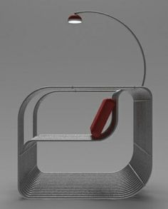Wire Chair by Youness Agouzzal