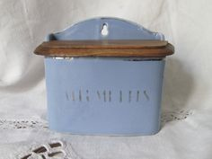 Vintage French Ceramic Allumettes/Match Box with by LeTrucVintage