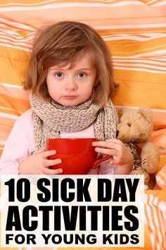 If you're looking for the perfect boredom busters for kids when they aren't well enough to go to school, but aren't sick enough to stay in bed, this collection of sick day activities is for you!