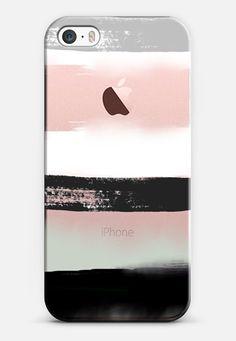 Large Watercolor Stripes 3 iPhone SE case by Jande Laulu | Casetify