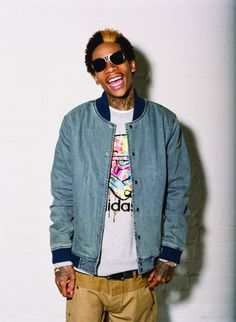 """Wiz Khalifa - You know his song """"Roll Up"""""""
