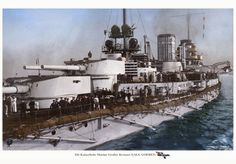 German battlecruiser SMS Goeben - transferred to the Turkish navy in she was not scrapped until She was a sister of SMS Moltke, which served with the main High Seas Fleet in the North Sea / Baltic throughout Pin by Paolo Marzioli Naval History, Military History, World Of Warships, Merchant Marine, Big Guns, Navy Ships, World War One, Submarines, Aircraft Carrier
