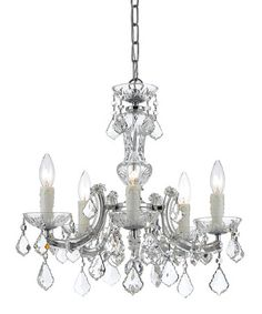 Take a look at this Maria Theresa Chandelier by Crystorama on #zulily today!