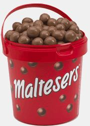 Maltesers, My most favorite candy EVER. Whoppers are NOT the same Dog Food Recipes, Snack Recipes, Dessert Recipes, Snacks, Maltesers Chocolate, Chocolate Brownies, Chocolate Explosion Cake, British Sweets, Penny Candy