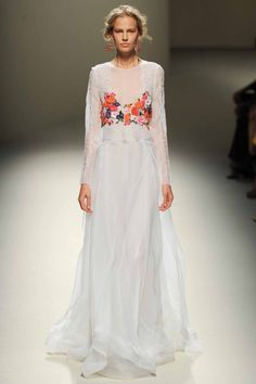 fashion forward Bride. the runway looks made for marriage