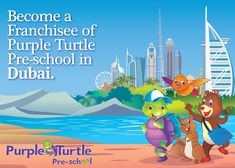 Do you have plans to start a Pre-School, set up play school, Open a nursery or an early learning center in #Dubai / #Abu_Dhabi/ #Sharjah?  Purple Turtle Preschool provides excellent opportunity to those wanting to step in to preschool & childcare industry. Join the best preschool franchise Network Today! For details visit: www.purpleturtle.com/preschool/ You can email us at franchise@purpleturtle.com or  Call us at 0755-4270555, 0755-2555442 Fax: 0755-2555449
