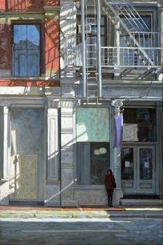 Paul Schulenburg, Any Moment, oil on canvas, 36 x 24.  http://www.schulenburgstudio.com/