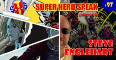 """This week the guys sit down with Steve Englehart. They talk about his time at Marvel, DC and Atari. And the multiple times he """"quit comics for good"""". http://superherospeak.com/wp/97-steve-englehart/"""