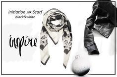 Initiation silk scarf The Exquisite Collection