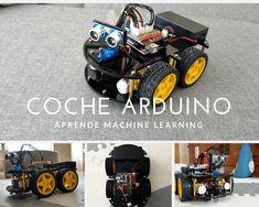 Programa un Coche Arduino que conduce sólo | Aprende Machine Learning Arduino, Motor Dc, Home Appliances, Linear Function, Ultrasound, Iron, House Appliances, Appliances