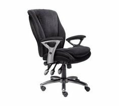 Serta Fabric Multifunction Managers Office Chair, Black by Serta. $199.99. Contemporary width and height. Adjustable arms. Multifunctional three handled seat plate. Upholstered in black fabric. Heavy-duty base meets BIFMA standards. Serta Fabric Multifunction Managers Chair, Black Adjustable ergonomic features to customize your comfort and wellness. Use the 3 levers to adjust the seat height and angle to dial in a perfect seating experience. Allows the back to be repo...