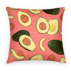 Adorable Kawaii Avocados | Pillows and Pillow Cases | HUMAN