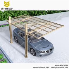Aluminum Shelters with back pull have strong resistance to wind and snow. Very suitable in offshore, the region with strong wind.