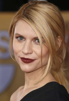 Love Claire Danes hair and bold lip - SAG Awards 2013: The best celebrity hairstyles