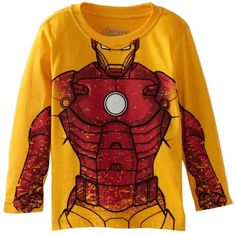 Marvel Little Boys'  Ironman Long Sleeve Pullover, Yellow, 2T Marvel http://www.amazon.com/dp/B00CFEAPOA/ref=cm_sw_r_pi_dp_BUTMub086DE64
