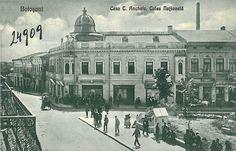 Botosani - Casa C. Anchele - Old center Romania, Taj Mahal, Beautiful Places, Louvre, Building, Travel, Houses, Viajes, Buildings